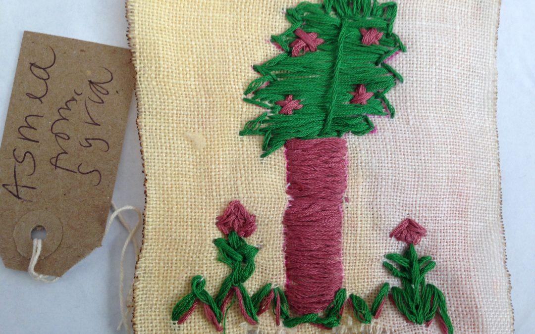 Syrian stitching