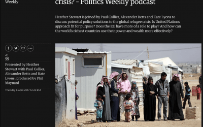 Can politicians solve the refugee crisis?
