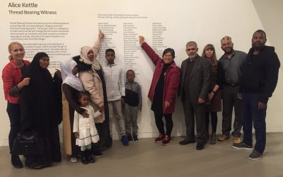 Refugee Action visit